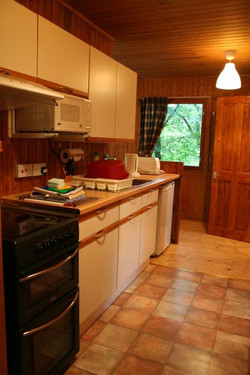 Kitchen - Lodge 3 -Arran