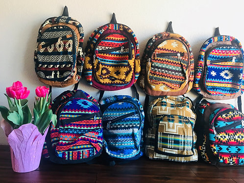 hand woven back pack
