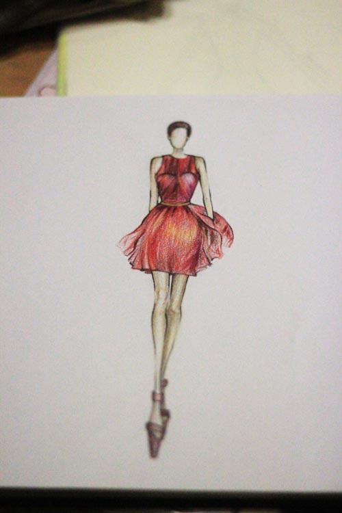 bnkstudio_วาดรูปคอร์สเรียนออกแบบทำแพทเทิร์นตัดเย็บเสื้อผ้ากระเป๋าหนัง