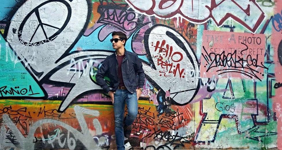 Yasir Batalvi - Berlin Wall