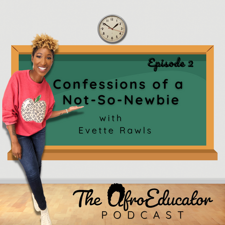 Confessions of a Not-So-Newbie with Evette Rawls