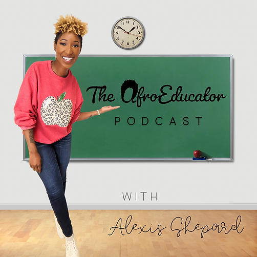 The AfroEducator Podcast Cover Art .png