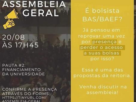Pauta #2 - Assembleia Geral