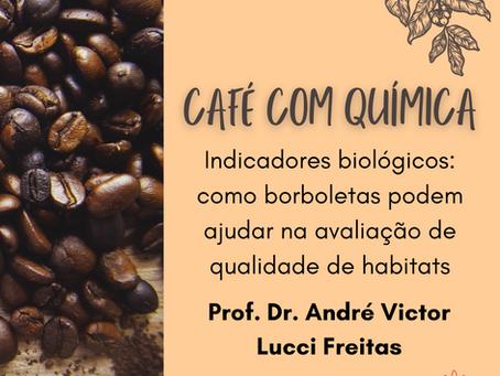 Café com Química - Maio:  Como borboletas podem ajudar na avaliação de qualidade de habitats