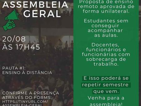 Pauta #1 - Assembleia Geral