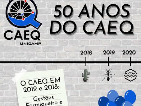 50 anos do CAEQ - CAEQ em 2019 e 2018: Formigueiro e Resiliência