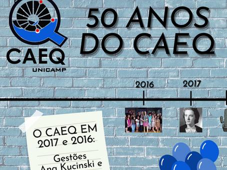 50 Anos do CAEQ - CAEQ em 2016 e 2017: Rosa Kucinski e Entropia