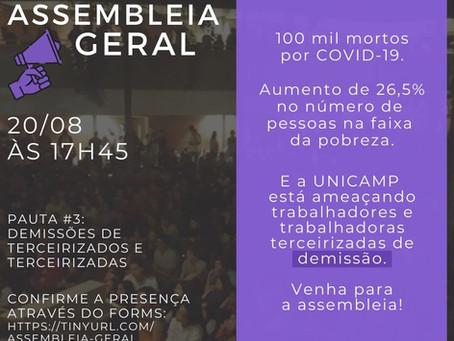 Pauta #3 - Assembleia Geral