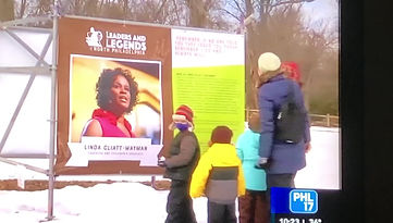 Leaders and Legends of North Philadelphia Outdoor Black History Month Exhibition (Feb 6-28)