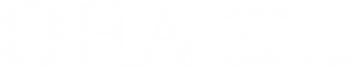 Dana Bernard Sanders - OHA Logo - White.