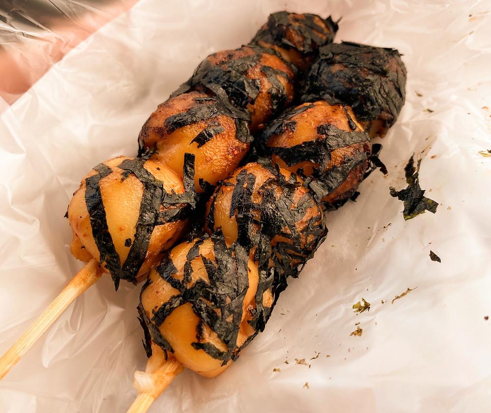 Vegan Japanese Street Food Mochi