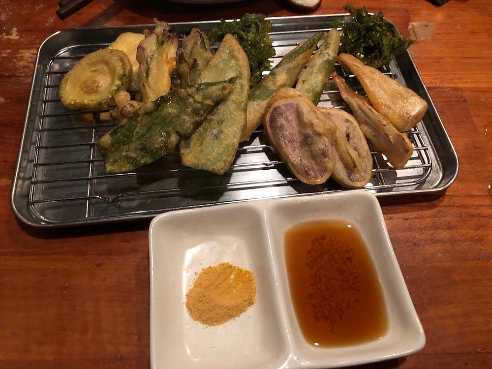 石垣島 てんぷら Okinawa Vegan Tempura