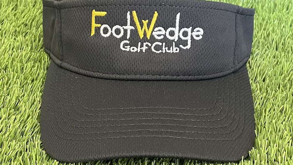Visor FootWedge Golf Club Design