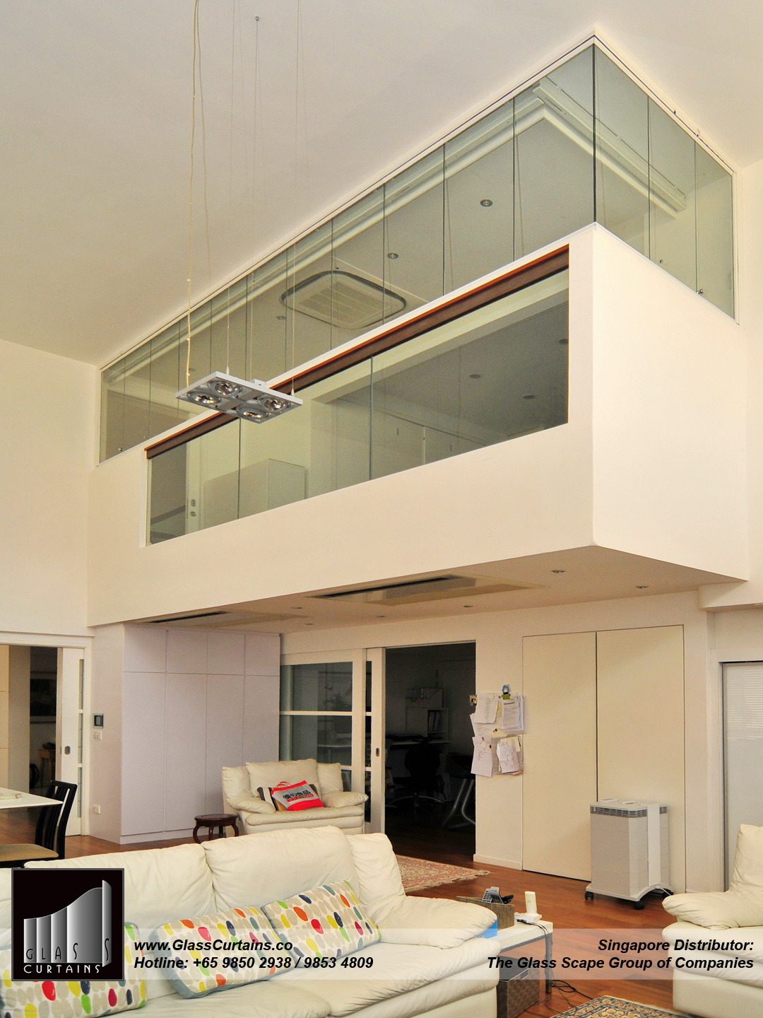 Glass Curtains® in closed position