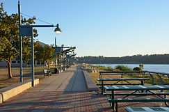 River Walk with Tables.JPG