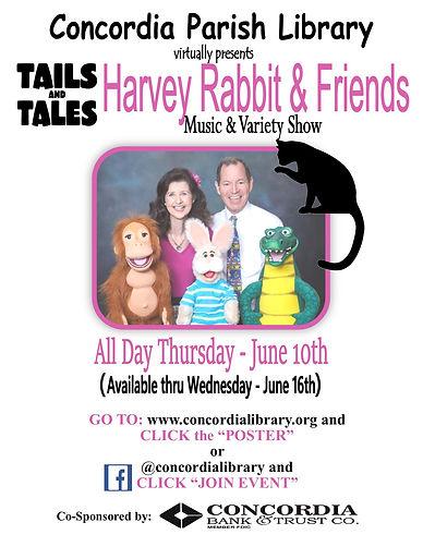 Harvey Rabbit and Friends Poster 2021.jp