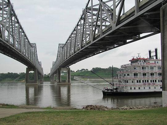 Riverboat in Vidalia Louisiana