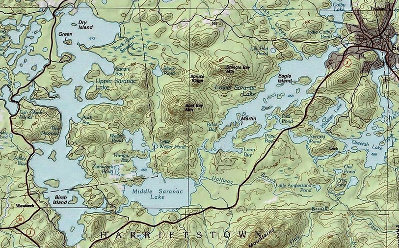 Saranac Lake Chain of Lakes