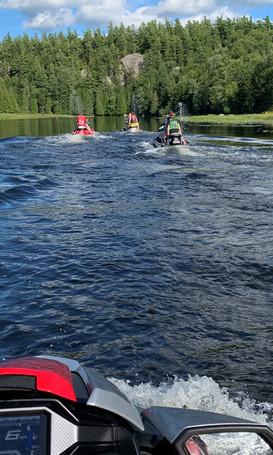 Jet Ski Tour on the Saranac Lake Chain