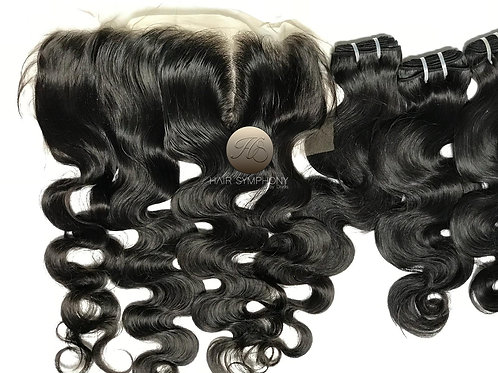 Russian Bundles & 13 x 4 Frontal