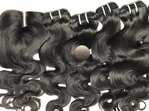 Russian Bundles & 4x4 by Closure