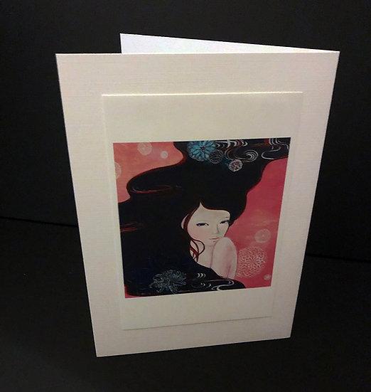 "Art (Greeting) Card of ""Melody"""