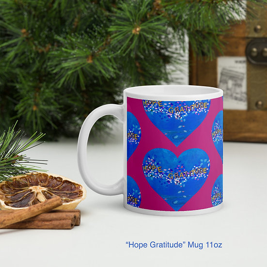 """This """"Hope & Gratitude"""" mug will uplift your mood for the day."""