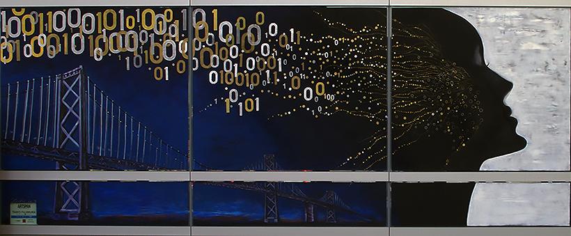 Mural, Salesforce Transit Center, SF