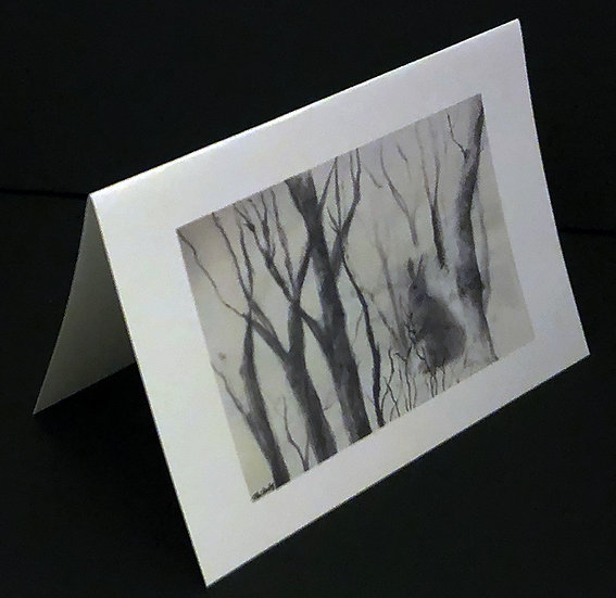 """Art (Greeting) Card of """"Home 11"""""""