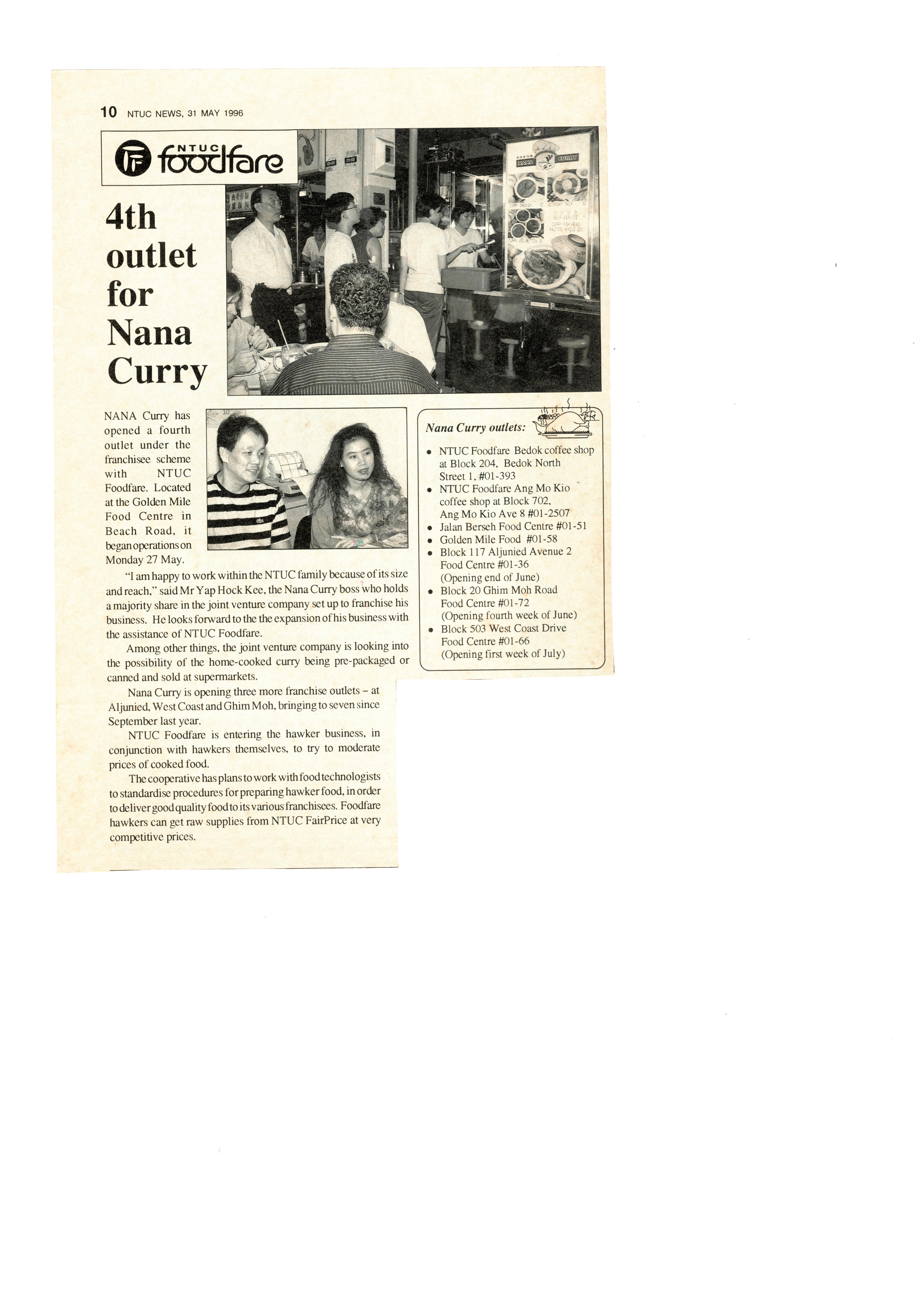 NTUC News 31May1996