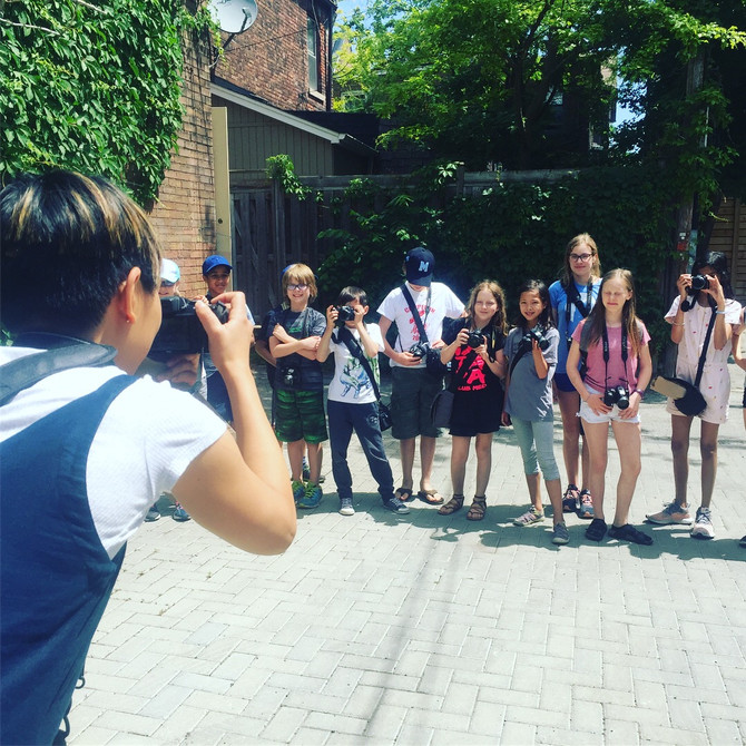 HALF-DAY SUMMER PHOTO CAMPS FOR KIDS, TORONTO 2021