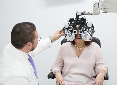 How to prepared for your next eye exam
