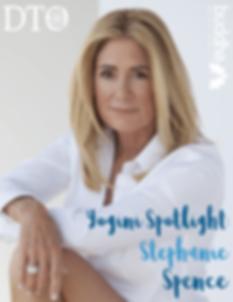 Stephanie Spence DTO magazine interview