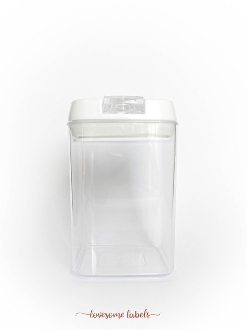 0.8L Flip Jar Container