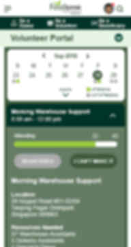 Mobile Volunteer Calendar (Week) cropped