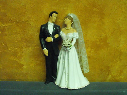 Large Clay Magic Bride and Groom