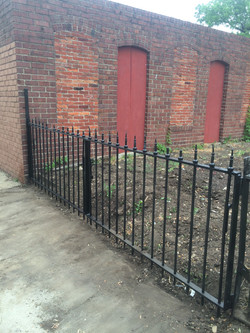 Modified Fence to Gate