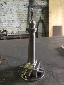 Steel Washington Monument Model