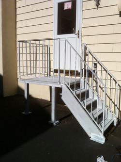 Landing, Stairs & Railings