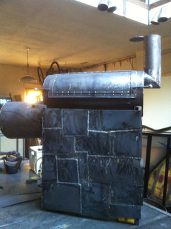 Quilted Steel Base Smoker