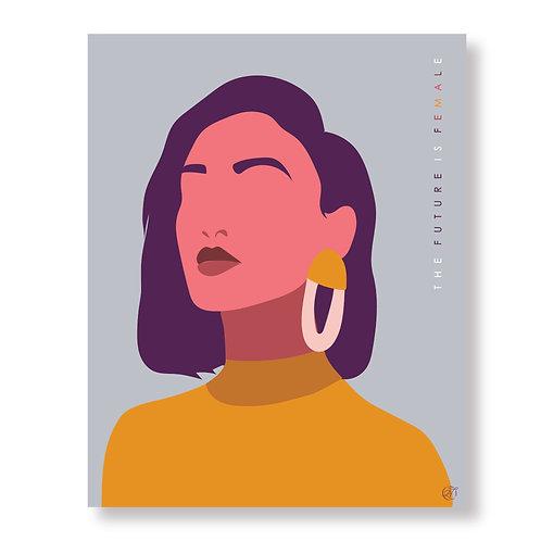 The Future is Female Print