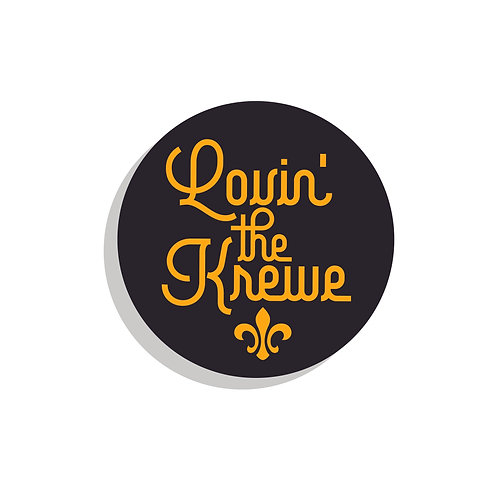 Lovin' The Krewe Sticker