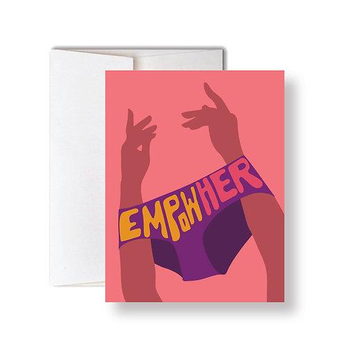 EmpowHER Card