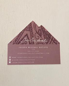 Business Card Design: Pocket Square