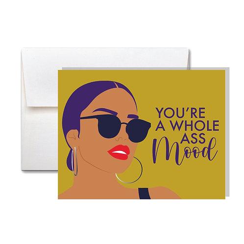 A Mood Appreciation Card
