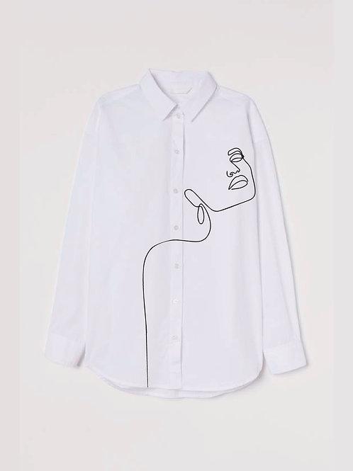 Celeste Oversized Poplin Shirt
