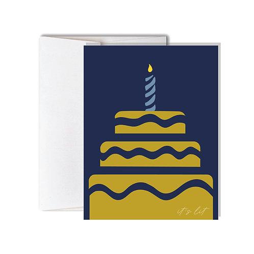 It's Lit BirthdayCard