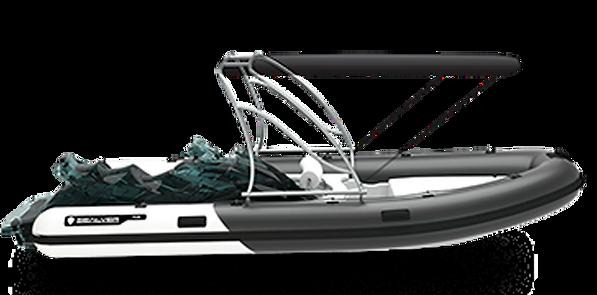Wave Boat RIB 575 Full Wake