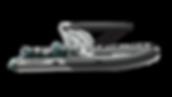 Wave Boat RIB 626 Ful Wake