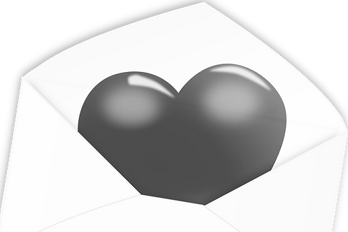 LoveMail Silber